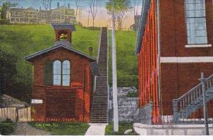 Illinois Galena Washington Street Steps