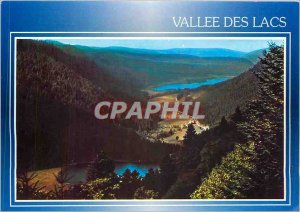 Modern Postcard Images of France's Hautes Vosges Valley lakes and Longemer Re...