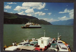 BC Nelson Creston Castlegar Ferry Boats British Columbia Canada Carte Postale