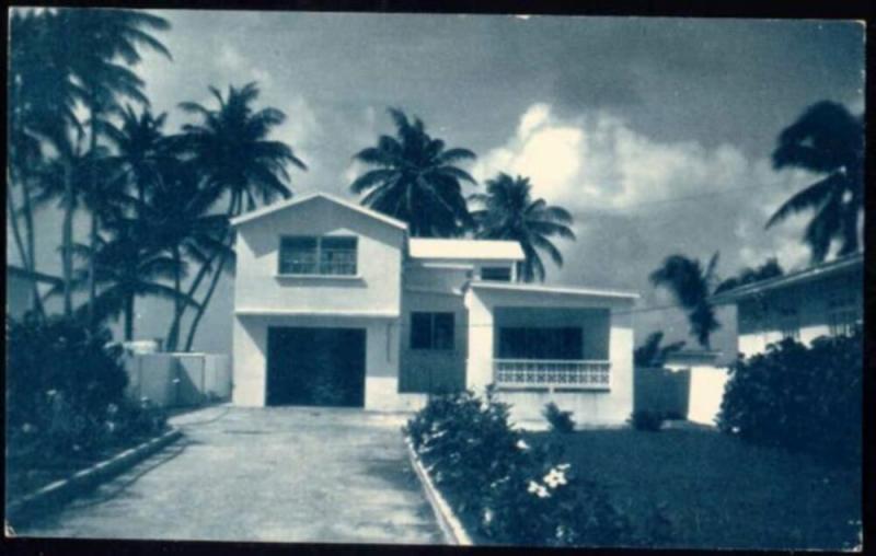 barbados, B.W.I., St. JAMES, La Rosita, Lower Carlton (1950)