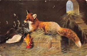 Fox Painting Unused