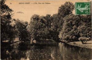 CPA  Seine-Port - L'Ile - Parc du Chateau  (638868)