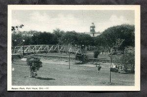 5273 - PORT HOPE Ontario 1930s Rotary Park