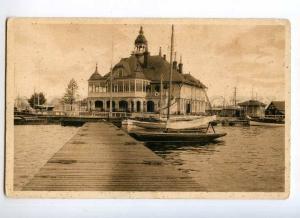 247122 FINLAND HELSINKI Pursiklubin pavilion Vintage postcard