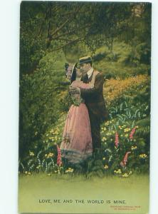 Bamforth ROMANTIC COUPLE Great Postcard AA7487