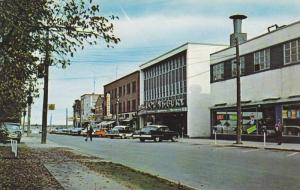 King Street, Looking North, Greetings From Busy Bathurst, New Brunswick, Cana...