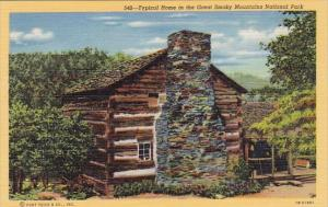 Typical Home In The Great Smorky Mountains National Park Tennessee