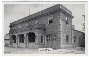 Mansfield, Mass, Fire Station