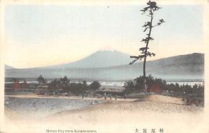Japan Mount Fuji from Kashiwabara Promenade