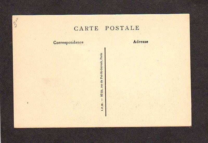 France M Dupin Femme du fermier General par Lefebvre Chenonceau Carte Postale