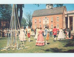 Unused Pre-1980 OLD STATE HOUSE Dover Delaware DE p3008