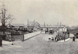 Postcard WILMSLOW Railway Station, Cheshire Reproduction Card #W
