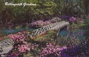 Alabama Mobile Rustic Bridge At Bellingrath Gardens