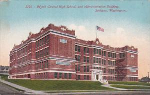 North Central High School, And Administration Building, SPOKANE, Washington, ...