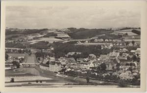 Semily Czech Republic -AERIAL VIEW ofSEMIL and SEEMUHL 1950s