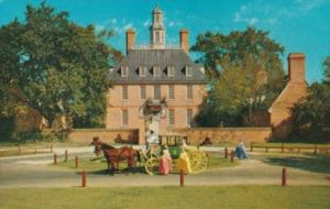 18th Century Carriage At Governor's Palace Williamsburg Viorginia 1962
