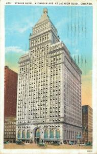USA - Straus Building Michigan Avenue At Jackson Building 01.93