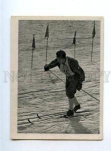 166996 VII Olympic WERNER MORING skier CIGARETTE card