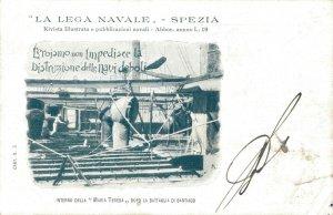Italy Le Lega Navale Spezia Interno Della Maria Teresa Nave 03.06