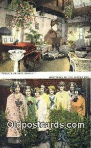 Pepper Pot, Greenwich Village Restaurant, New York City, NYC Postcard Post Ca...