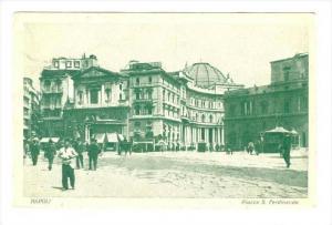 Piazza S. Ferdinando, Napoli (Campania), Italy, PU-1902