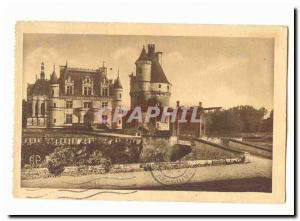Chenonceau Old Postcard The chateau l & # 39aile Thomas Bohier the Marques to...