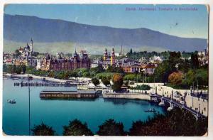 Zurich, Alpenqual, Tonhalle & Guaibrucke, Switzerland