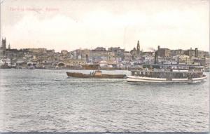 Darling Harbour Sydney Australia AU Ferry Alpha Series Vintage Postcard E15
