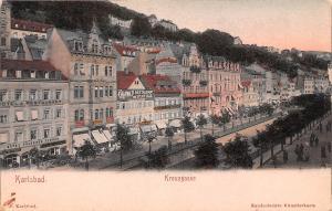 Karlsbad Austria Kreuzgasse Karlsbad Kreuzgasse