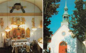 Eglise Notre-Dame de Lorette (Indian), Huron , Quebec, Canada, 50-60s