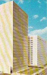 Michigan Detroit Detroits New City County Building Facing The Detroit River