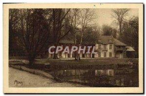 Old Postcard The Small Tables Of Versailles La Maison De La Reine