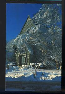 Hallowell, Maine/ME Postcard, Hubbard Free Library