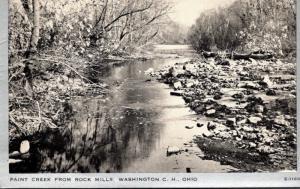 Ohio Washington Paint Creek From Rock Mills