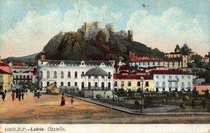 Portugal Leiria Castello 1919 postcard