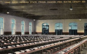 JACKSON , Michigan , 00-10s State Prison Dining Room