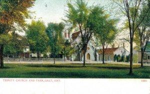 Canada Trinity Church And Park Galt Ontario 04.06