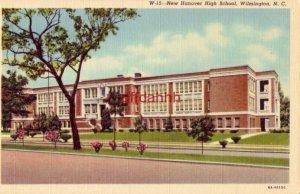 NEW HANOVER HIGH SCHOOL. WILMINGTON, NC