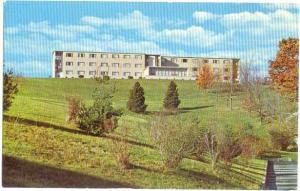 Pence Hall Men's Dorm at Fairmont College West Virginia WV Chrome