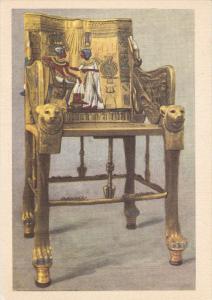 EGYPT, 1940´s; No.3 Tut Ank Amen´s Treasures, King's Throne
