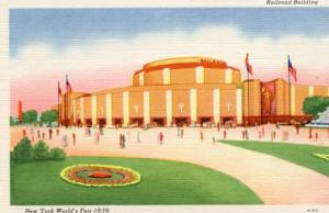 NY - 1939 World's Fair, Railroad Building