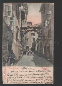 119389 Croatia FIUME Arco Romano RIJEKA REKA Vintage PC