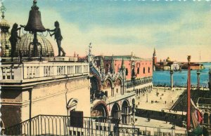 Italy Postcard Venice San Marco gondola
