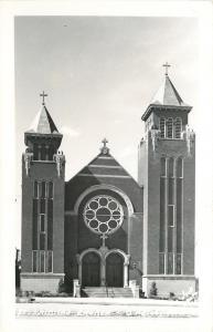 O Neill Nebraska~St Patricks Catholic Church~1950s Postcard RPPC