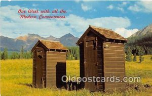 Out West Outhouse Unused
