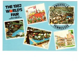 1982 World's Fair, Knoxville Tennessee, Postage Stamps