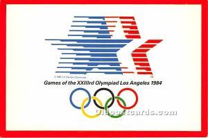 XXIIIrd Olympiad's Star Los Angeles, California, CA, USA Unused