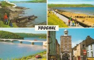 Youghal Bridge Beach Shops Multi View Photo Postcard