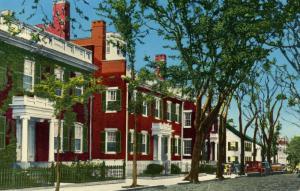 MA - Nantucket. Starbuck Houses