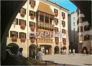 Modern Postcard Innsbruck Tirol Austria The Golden Roof